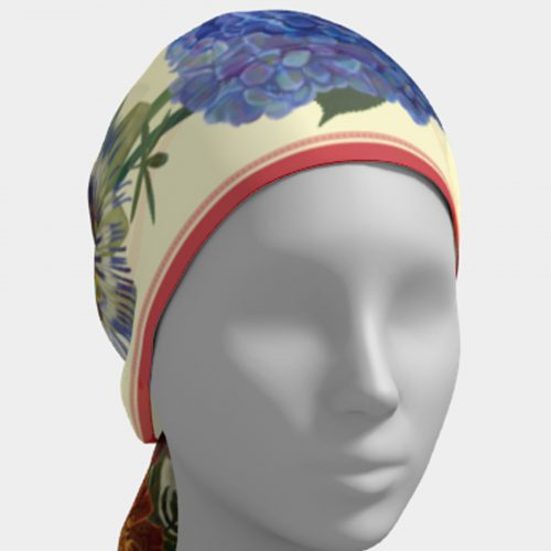 Autumn Botanical Scarf Head