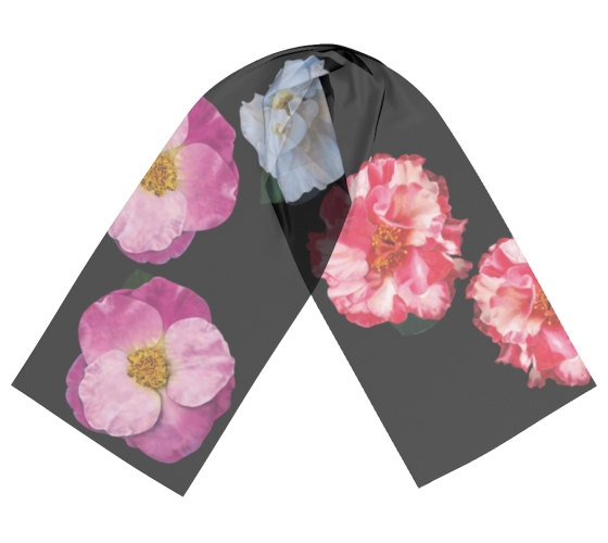 MEdesign studio camellia scarf flat
