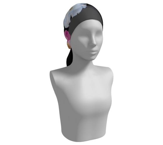 MEdesign studio camellia scarf head