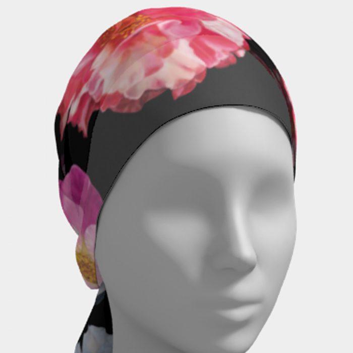 Camellia Scarf Head