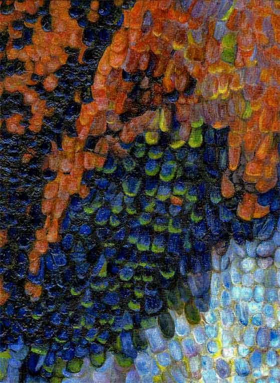 Papilionidae: Papilio paris oil 12X16