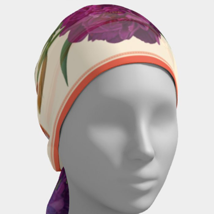 Botanical Summer Scarf Head
