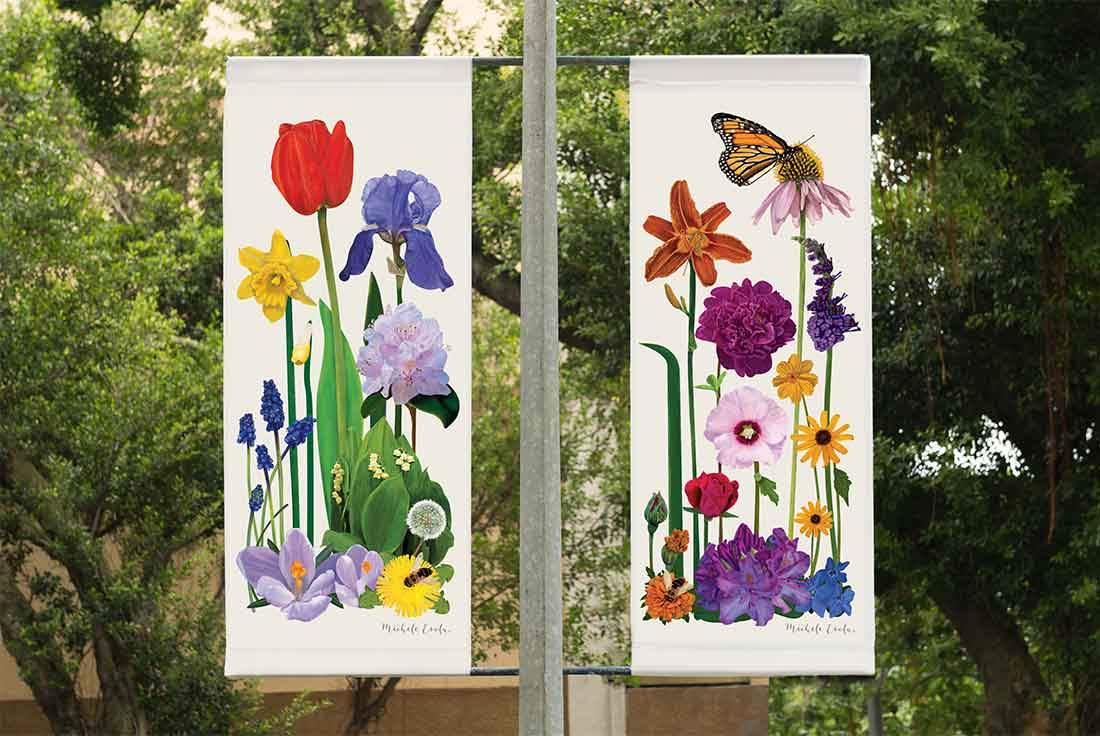Botanical Flags