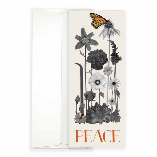 Peace Botanical Greeting Card
