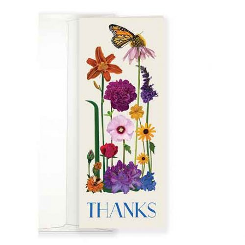 Botanical Thanks Greeting Cards