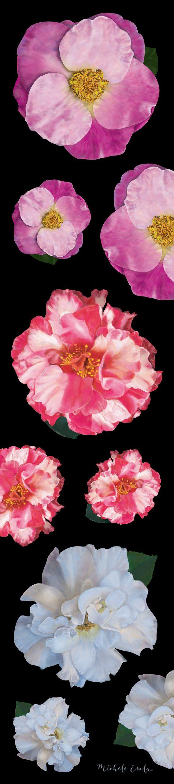 Camellia Scarf