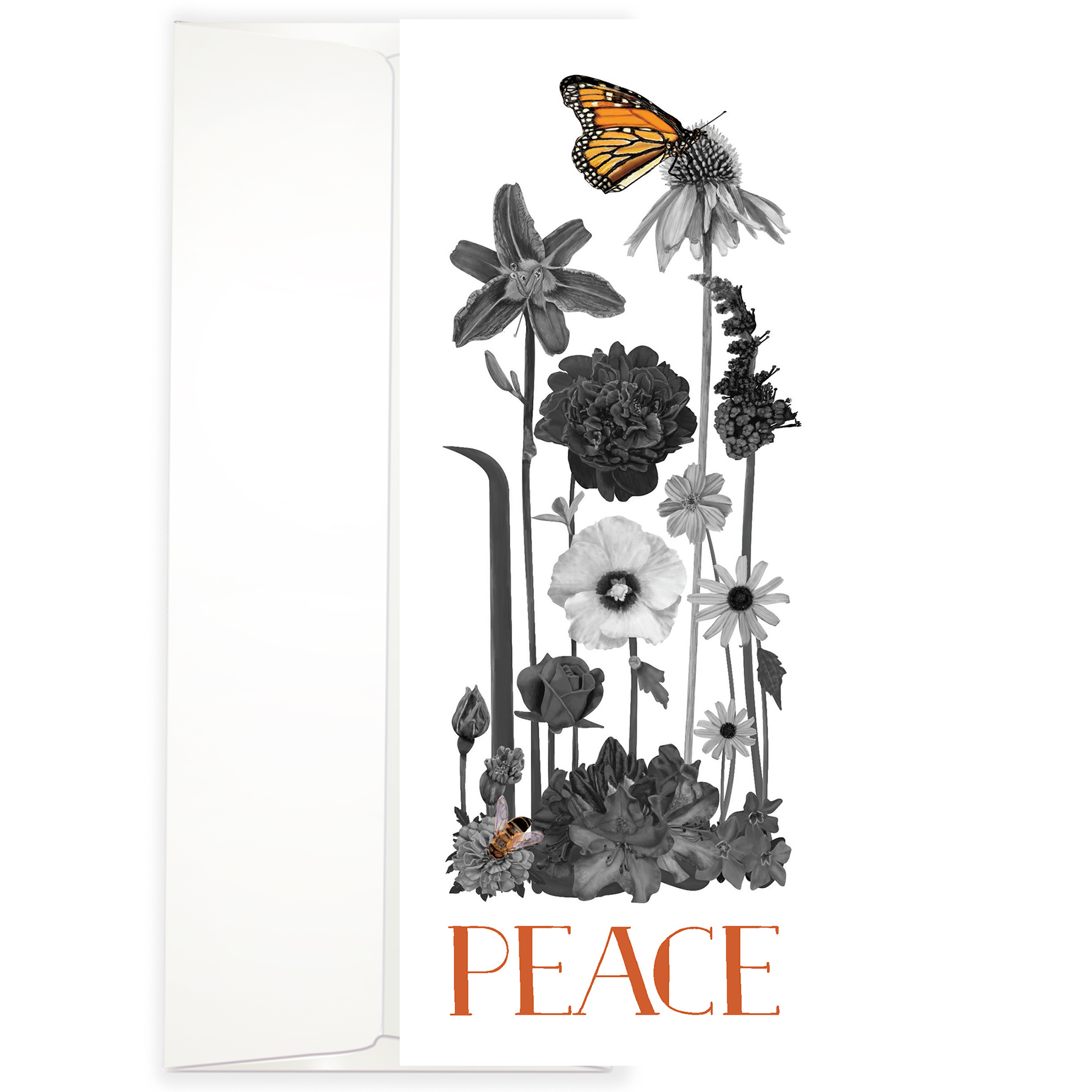 Botanical Peace Greeting Cards